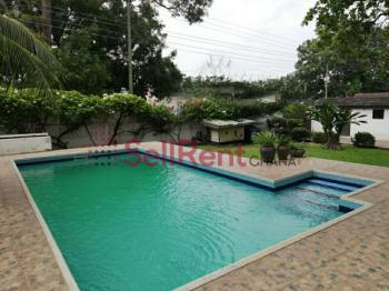 5 Bed Hse Pool & 2 Bq, East Legon (okponglo), Accra, House for Rent