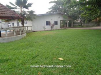 3 Bedroom House with Swimming Pool and Garden, Dzorwulu, Accra, House for Rent